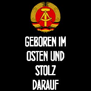 Geboren im Osten und stolz darauf - DDR