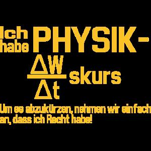 Physik LK Physiker Geschenkidee lustig Abschluss