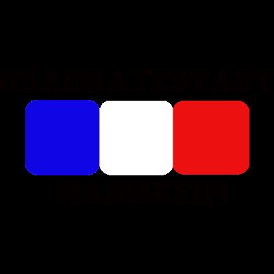 Quadratestadt-Mannheim-Logo - Das Logo mit den 3 Quadraten in Mannheims Farben - quadratestadt,quadrate,mannheim,adler,Waldhof,MERC,Kurpflalz