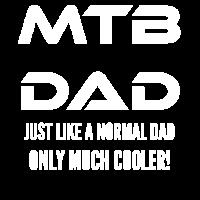 Mountain Bike Dad Vater Papa MTB Spruch