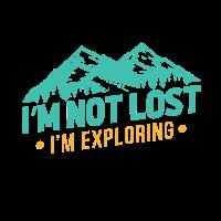 ich bin nicht verschollen ich erkunde die berge
