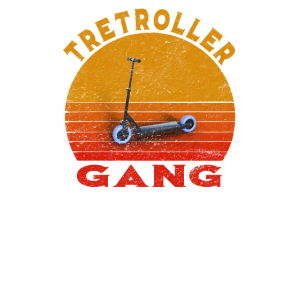 Tretroller-Gang