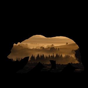 Landschaft tragen