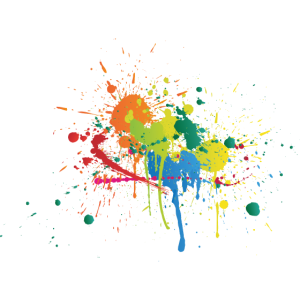 Farbverlauf Klecks Farbspritzer farbe Geschenk