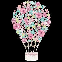 Blumen Ballon