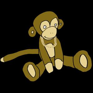 Reicher Affe