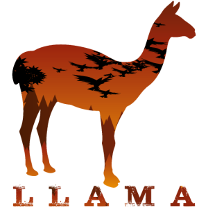 Lama Fans, Animal,Design,Tier,Lamaliebhaber
