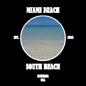 Miami Beach South Beach Florida Strand USA