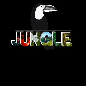 Jungle - Dschungel Paradies Vogel