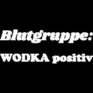 Blutgruppe Wodka positiv 1 weiss