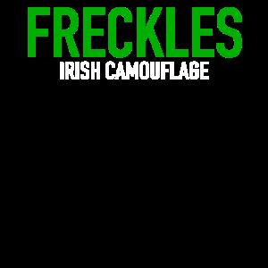 Freckles Irish Camouflage   St. Patrick's Day