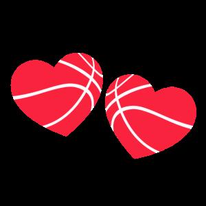 Basketball Valentinstag Geschenkidee Valentin