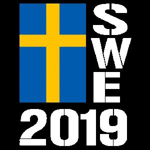 Schweden 2019 SWE Fussball Handball Eishockey Fan