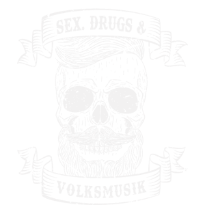 Sex, Drugs & Volksmusik Party Totenkopf Geschenk