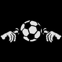Ohr Finger Mund Fußballfußball
