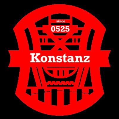 Konstanz Since 0525 - Ein super Geschenkidee für Jeden aus Konstanz, auch aber als Souvenir oder Andenken. - Wappen,Stadt,Souvenir,Since,Konstanz,Geschenkidee,Geschenk,Andenken