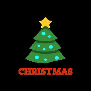 Christmas Tree Damen Herren Tshirt