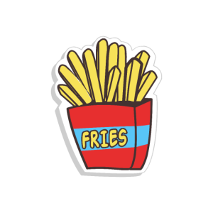 Fries Pommes Fast Food Pizza