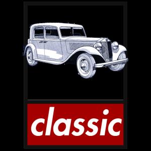Oldtimer klassiches Auto