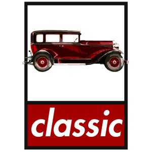 roter Oldtimer classic