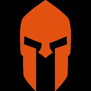 Spartan Helmet red