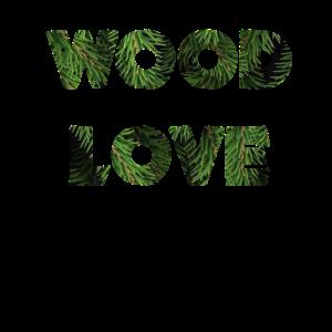 wood love. Waldliebe. forest. green. fir.