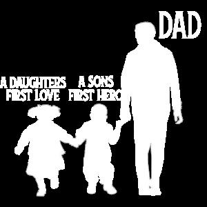 Dad Sohn Tochter Vater 2 Kinder