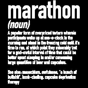 Marathon Definition | Marathonläufer Laufen