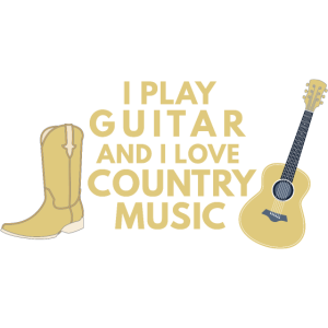 Country Music und Gitarre
