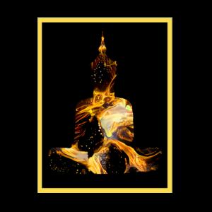 Buddha in Gold - Thailand - Indien - Buddhismus