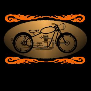 Motorad Oldtimer
