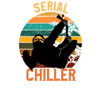 Serial Chiller Shirt Sloth T-Shirt