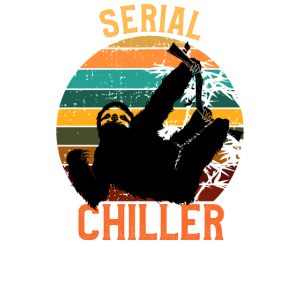 Serial Chiller Shirt Sloth T-Shirt