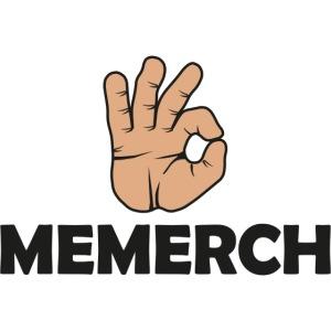 memerch logga o text