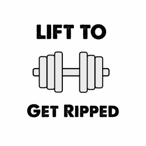 Lift to get ripped