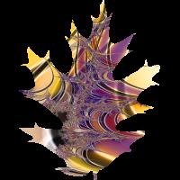 Eichen Blatt Fraktal