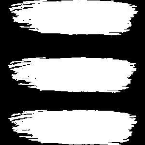Three Brush Stripes