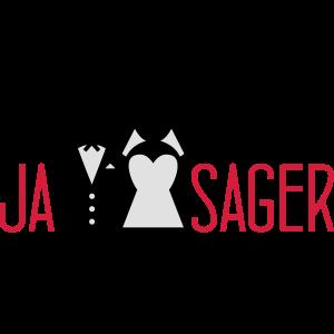 Brautpaar Ja Sager