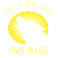 Frauen Mädchen lieben Wolf Shirt Freiheit Wildnis