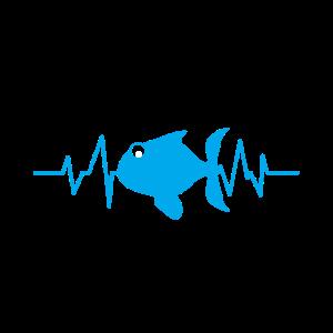 Aquarium Herzschlag Fische