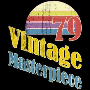 79 Vintage Masterpiece 40. Geburtstag Sunrise