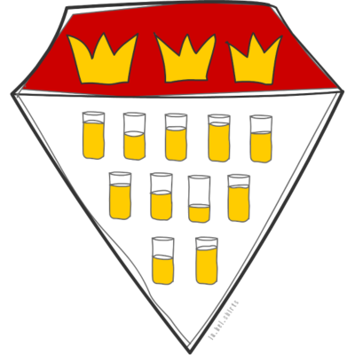 superkoelsch - Wappen von Köln  - super,lustig,Wappen,Kölsch,Köln,Krone,Karneval,Junggesellenabschied,Bierbauch