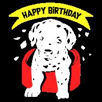 Geburtstag Dalmatiner
