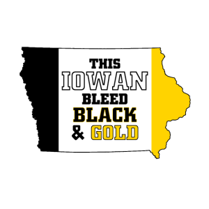 Dieses Iowan Bleed Black & Gold