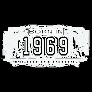 Vintage 51. Geburtstag Geschenk Geboren in 1969