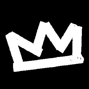 Krone - Tape - weiß