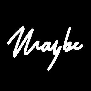 maybe - Handschrift