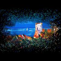 Malerei Korsika