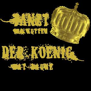 Tanzt! Der König hat laune! Krone Gold