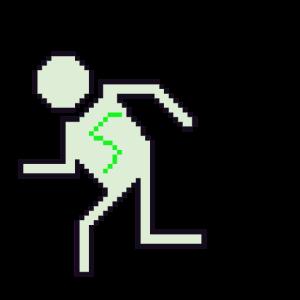 Pixelart Figur